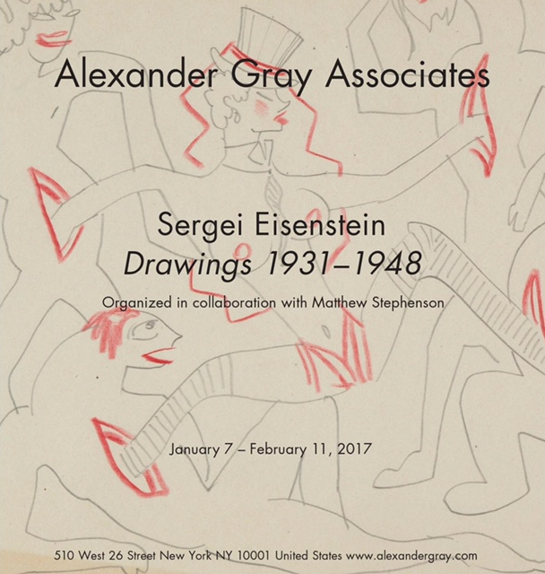 Exhibition and Gallery Talk: Sergei Eisenstein: Drawings 1931–1948