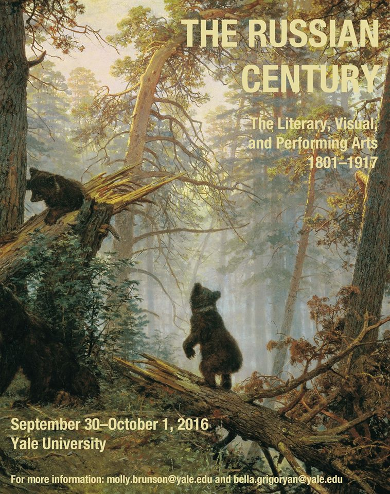 CONF: The Russian Century: The Literary, Visual, and Performing Arts, 1801-1917