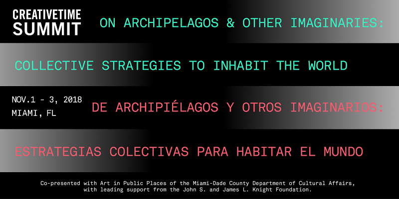 CONF: On Archipelagos and Other Imaginaries—Collective Strategies to Inhabit the World